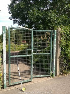 Electronic Access Control Gate